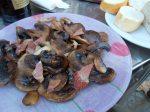 Urgell 27: xampinyons amb pernil