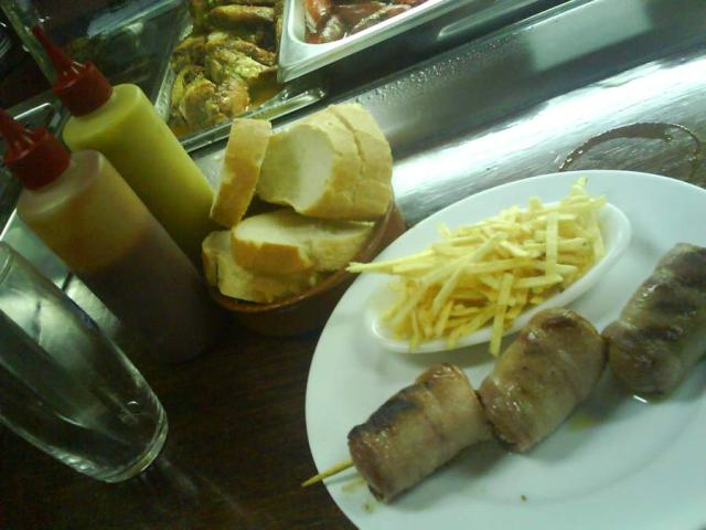 La Masia: frankfurt amb bacon