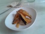 Tonka: alberginia en tempura a la mel